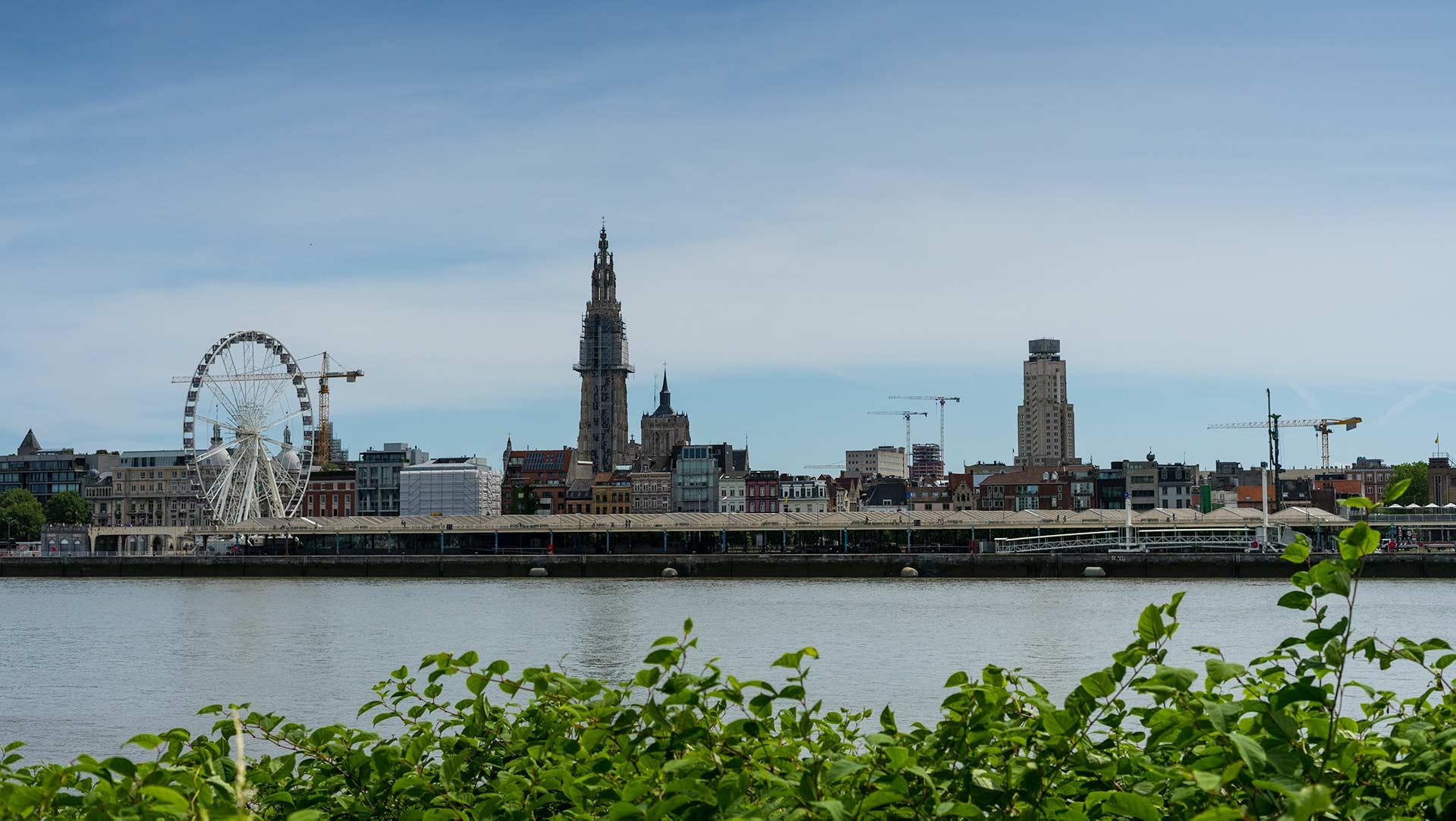 Antwerpen staat op de kaart