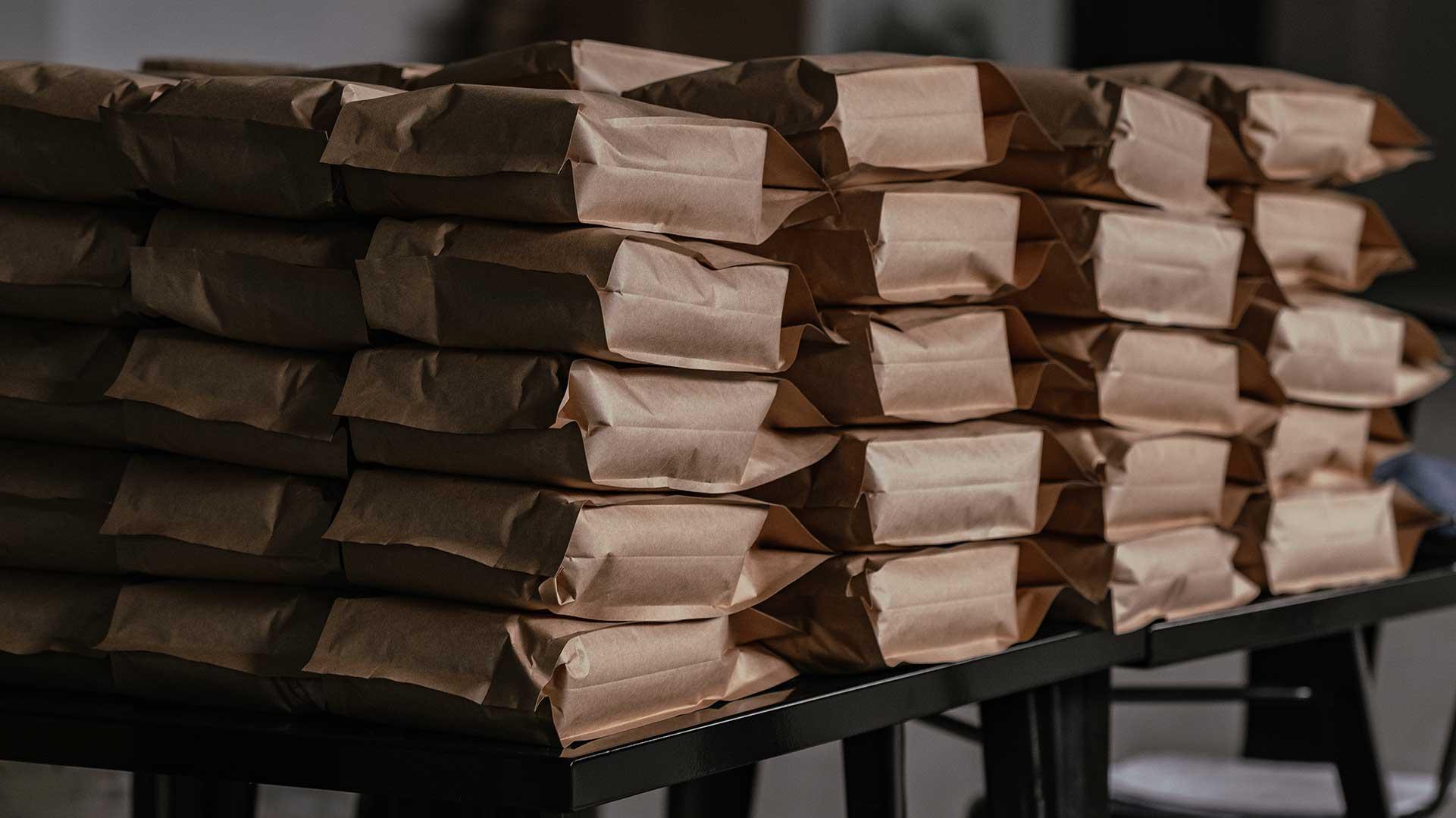 Koffieverpakking