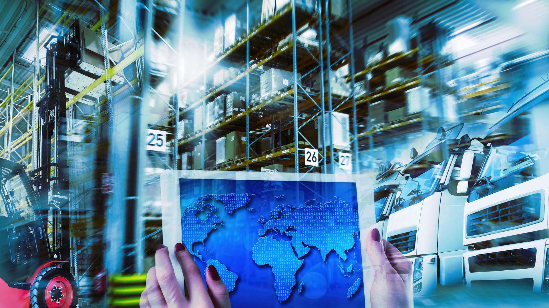 Weltweit vernetzte Logistik im modernen Transportwesen