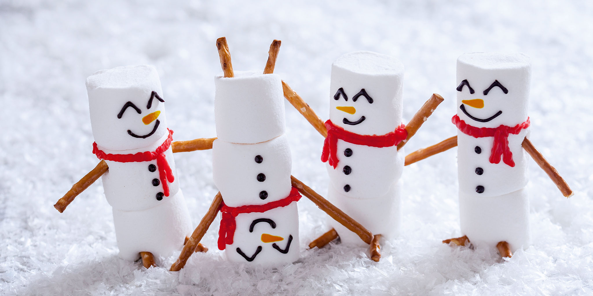 Faux bonhommes de neige