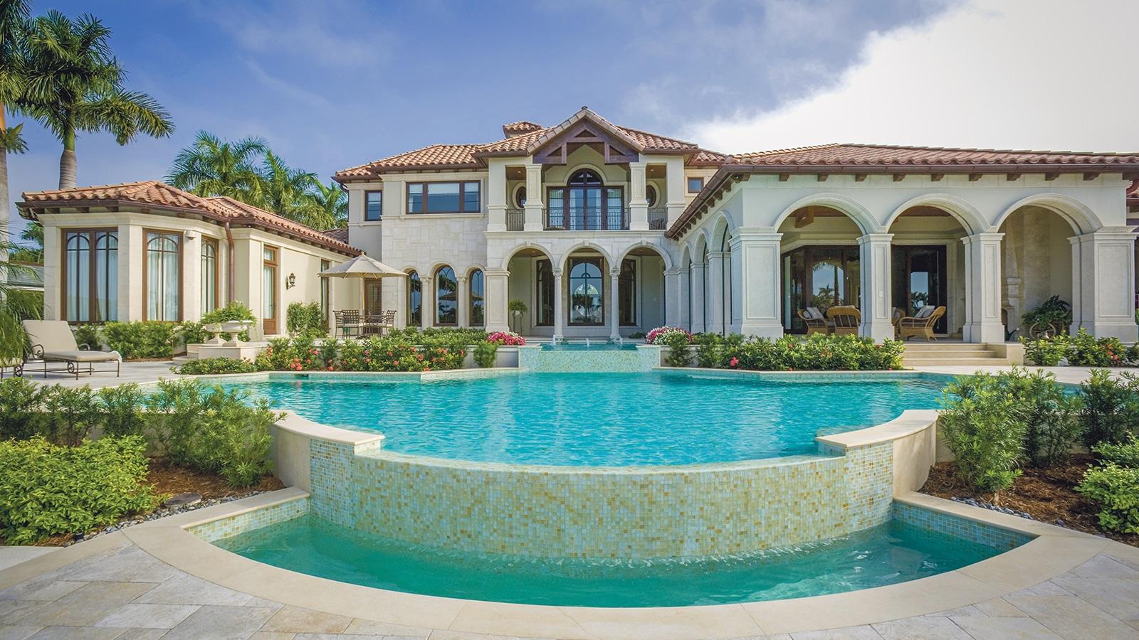 Vakantiehuis met een groot zwembad