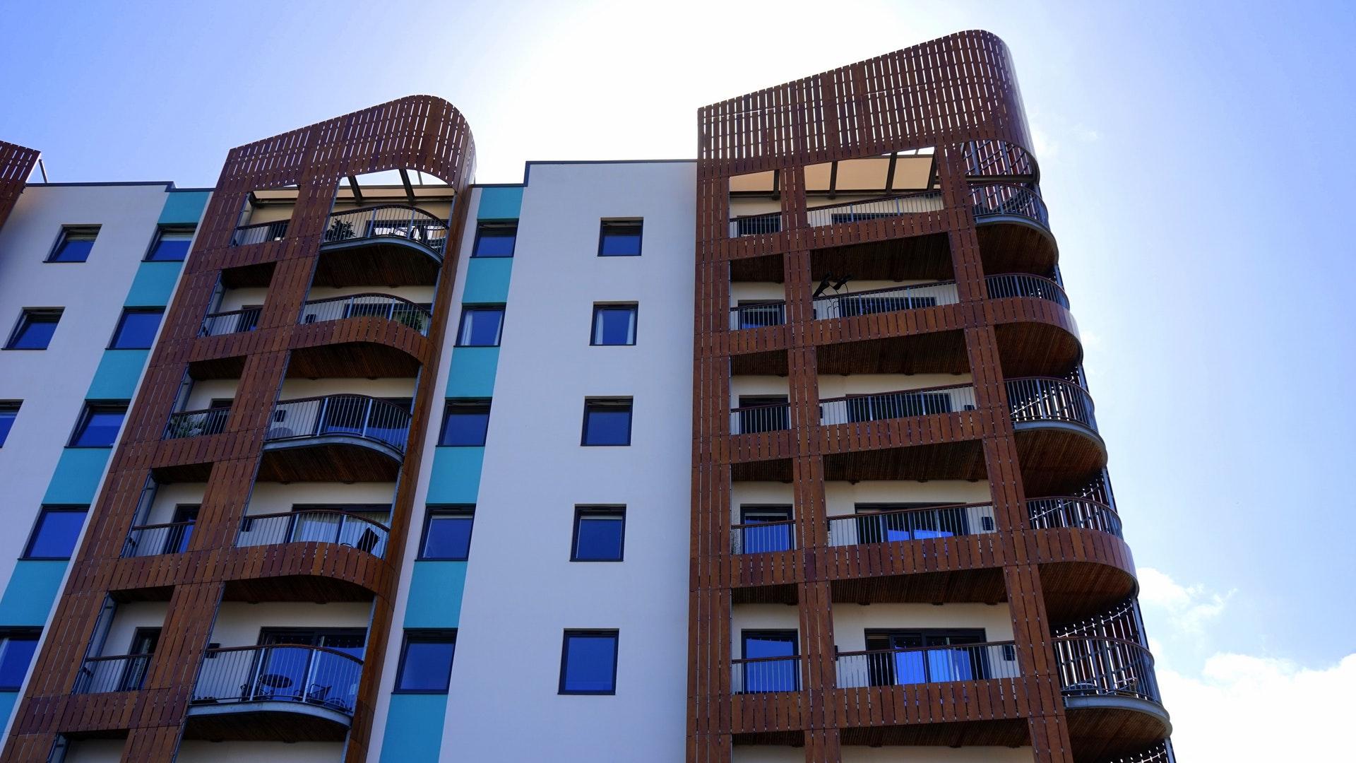 appartements avec design architectural